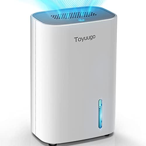 Toyuugo Luftentfeuchter 800ml Dehumidifier mit 2 Modi und Auto-OFF...