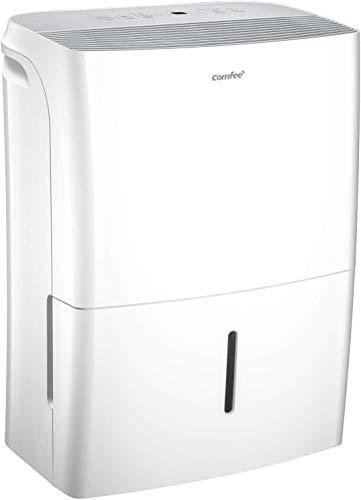 Comfee Luftentfeuchter, 20 L/24 h, Raumgröße ca.100 m³(40 m²),...