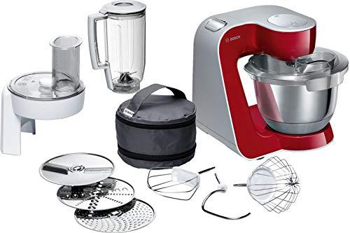 Bosch MUM5 CreationLine Küchenmaschine MUM58720, vielseitig einsetzbar,...