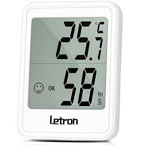 Thermometer Hygrometer, Thermometer Innen mit Hohen Genauigkeit Temeo Hygro...