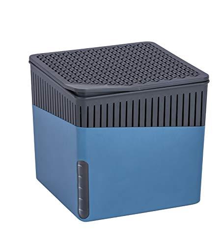 WENKO Raumentfeuchter Cube Blau 1000 g - Luftentfeuchter Fassungsvermögen:...