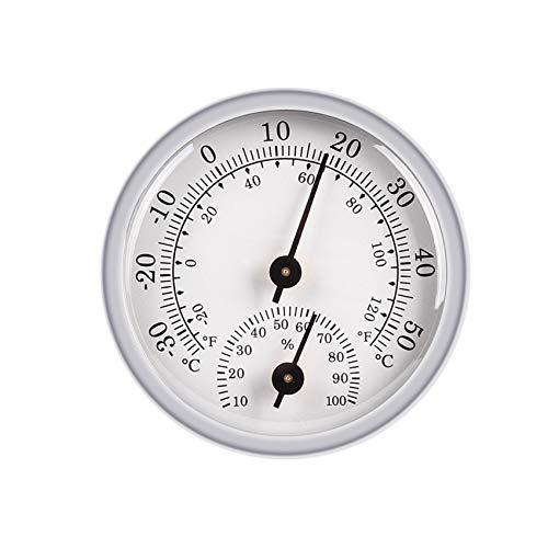 JeoPoom Thermometer Hygrometer Innen Analog, Einfache Ablesbarkeit,...