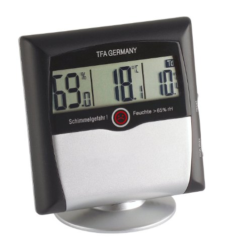 TFA Dostmann Comfort Control digitales Thermo-Hygrometer, 30.5011, mit...*
