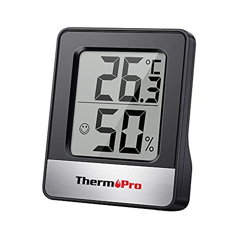 ThermoPro TP49 digitales Mini Thermo-Hygrometer Thermometer Hygrometer...