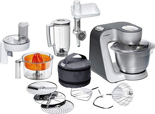 Bosch Küchenmaschine MUM5 Styline MUM56340, Schüssel 3,9 L, Mixer 1,25 L,...