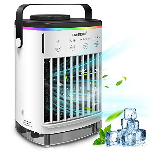 Mobile klimageräte, BASEIN Air Cooler, 4 in 1 Persönliche Klimaanlage,...