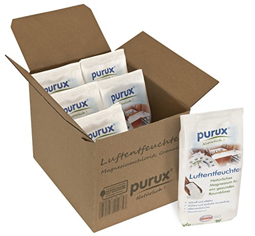 Purux Luftentfeuchter Granulat 4kg Entfeuchter Raumentfeuchter nachhaltig...