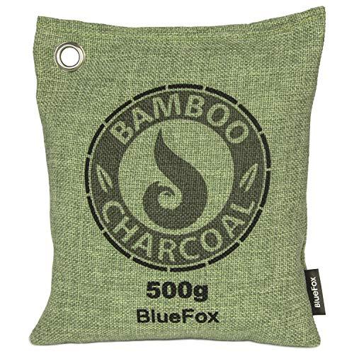 BlueFox Lufterfrischer aus Bambus Aktivkohle - 500g - Geruchsentferner -...