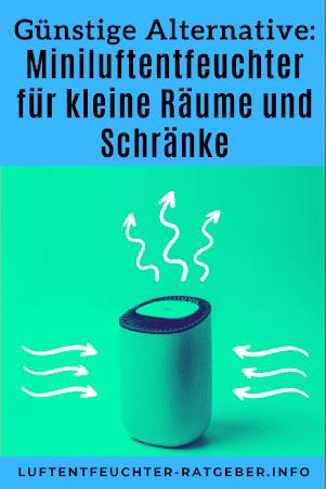 Miniluftentfeuchter fuer kleine Raeume und Schraenke pinterest