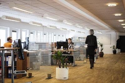 Luftreiniger für das Büro