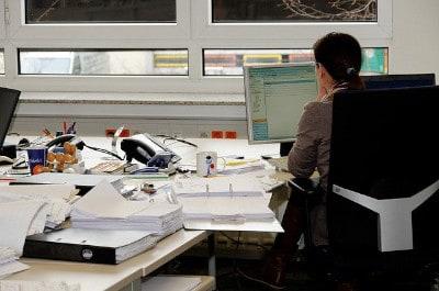 Luft reinigen im Büro