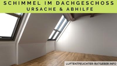 Schimmel im Dachgeschoss Ursachen und Abhilfe